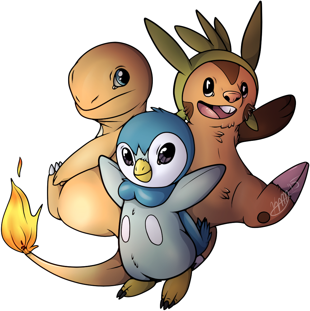 (Pokemon Challenge Day 6) Starters!