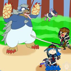 Arzuros battle