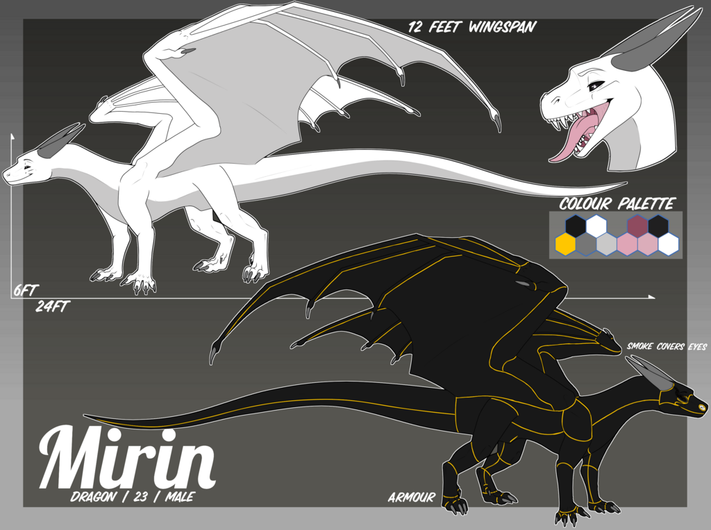Most recent image: :Com: Mirin Reference Sheet