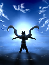 I am one with the sky and the sea of souls