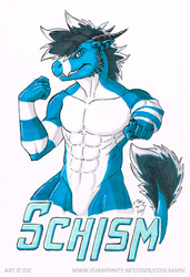 Schism11 Gift Badge