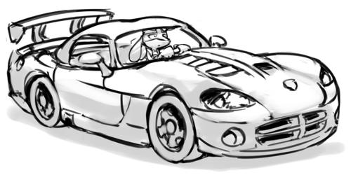 Dodge Viper Lucario