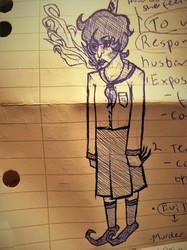 This weird sketch