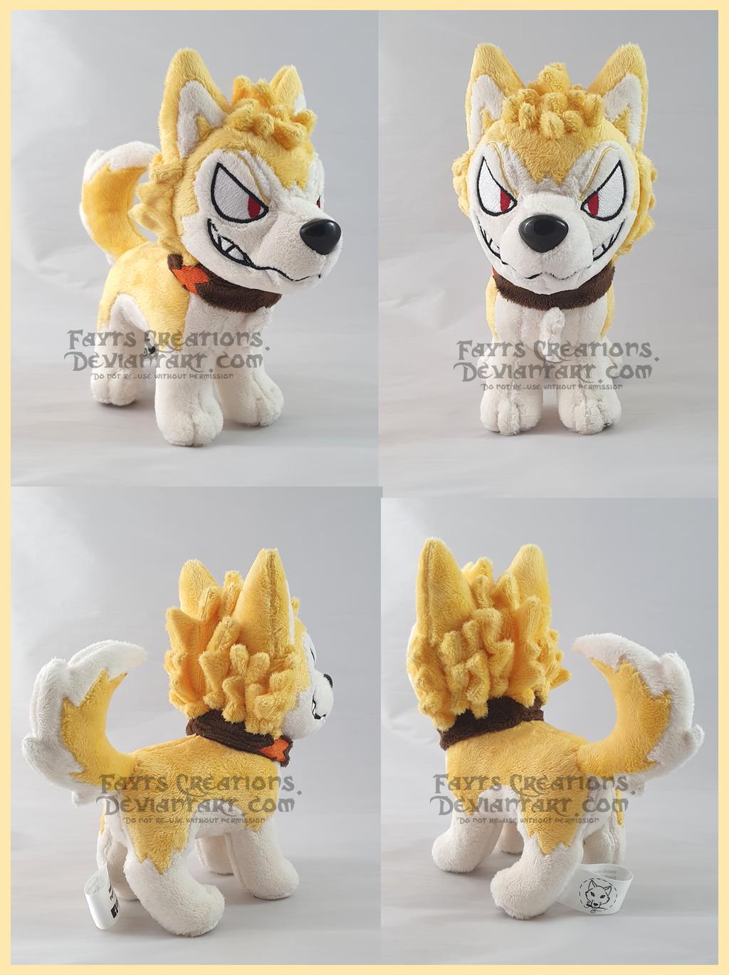 Bakugou pup Comm