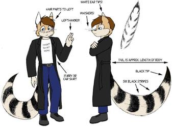 Kendall the Ringtail - Profile sheet