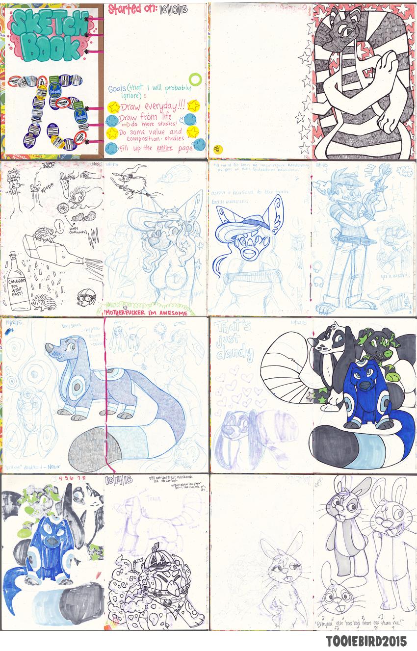 Sketchbook 75 - Part 1