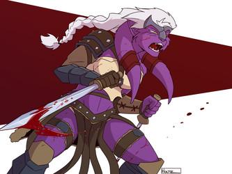 [C] Fury of the Gladiatrix!