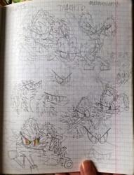 Talento-Raduga - sketch sheet