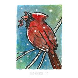 Cardinal ACEO