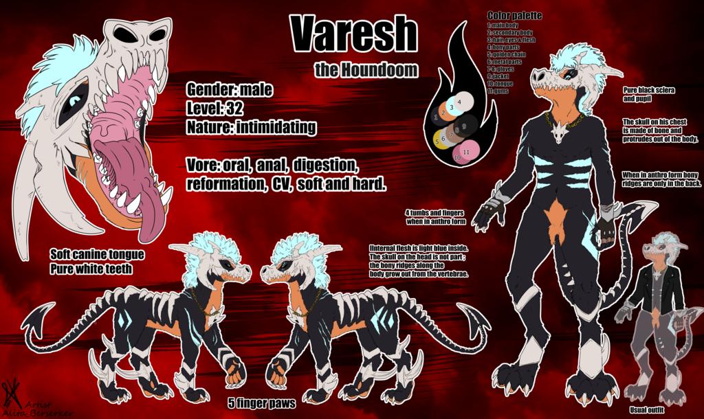 Creature design commission - Varesh