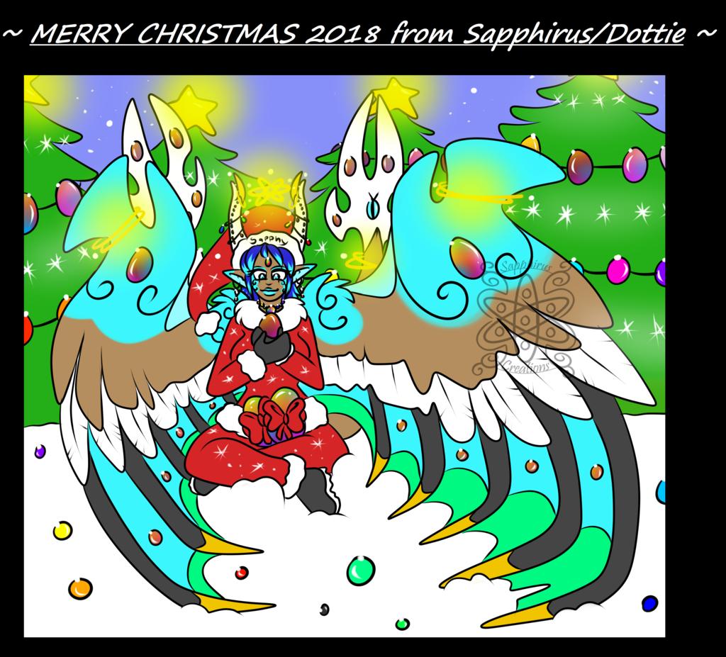 Merry Christmas 2018 +Sapphirus+