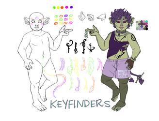 (closed species) KEYFINDER REF