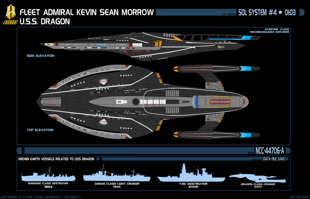 Most recent image: USS DRAGON NCC-44706-A
