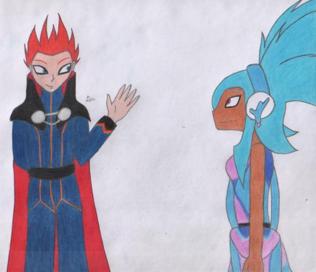Fan Art - Avika Meets Lance