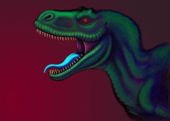 Tyrannosaurus Portrait