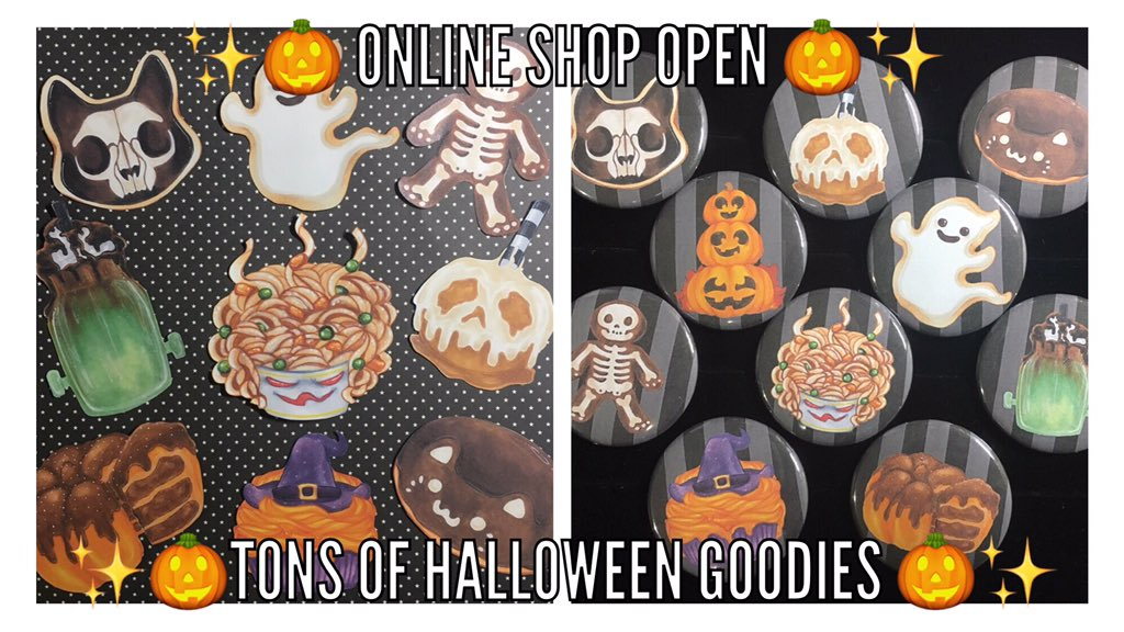 Most recent image: ・。・゜・🎃 Halloween Treats 🎃 ・゜・。・