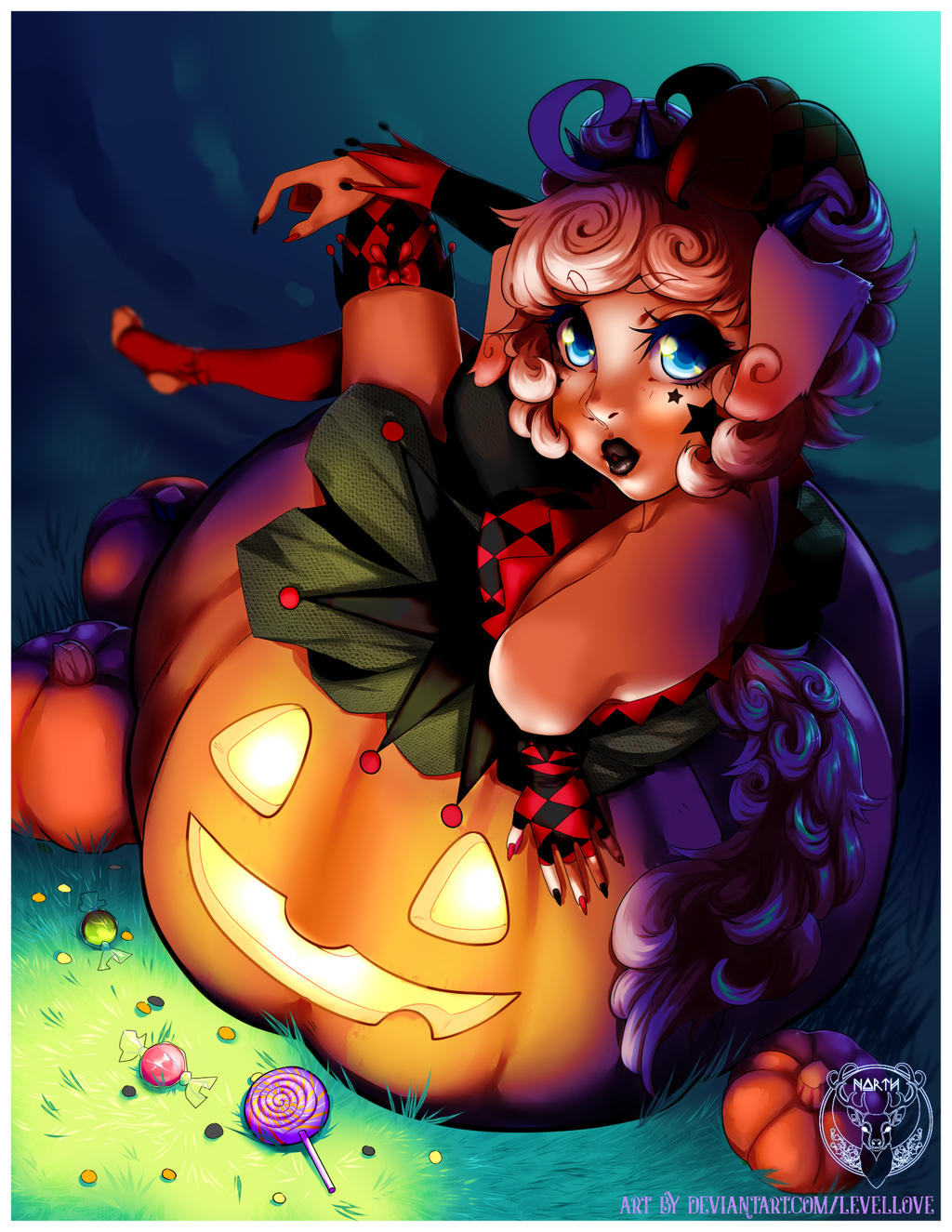 YCH complete| leafyxthiefy oct.