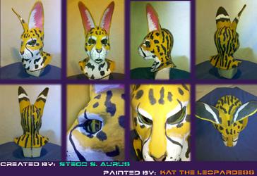 Painted Gas Mask: Chervert