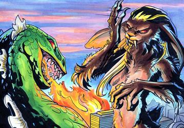 :Commission: Monstrous Breath