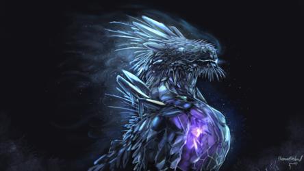 Glacier dragon