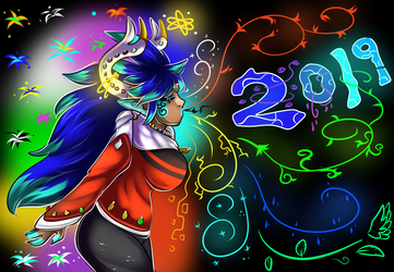 SAPPHY NEW YEARS +2019+