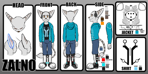 Zalno Reference - Tron Outfit