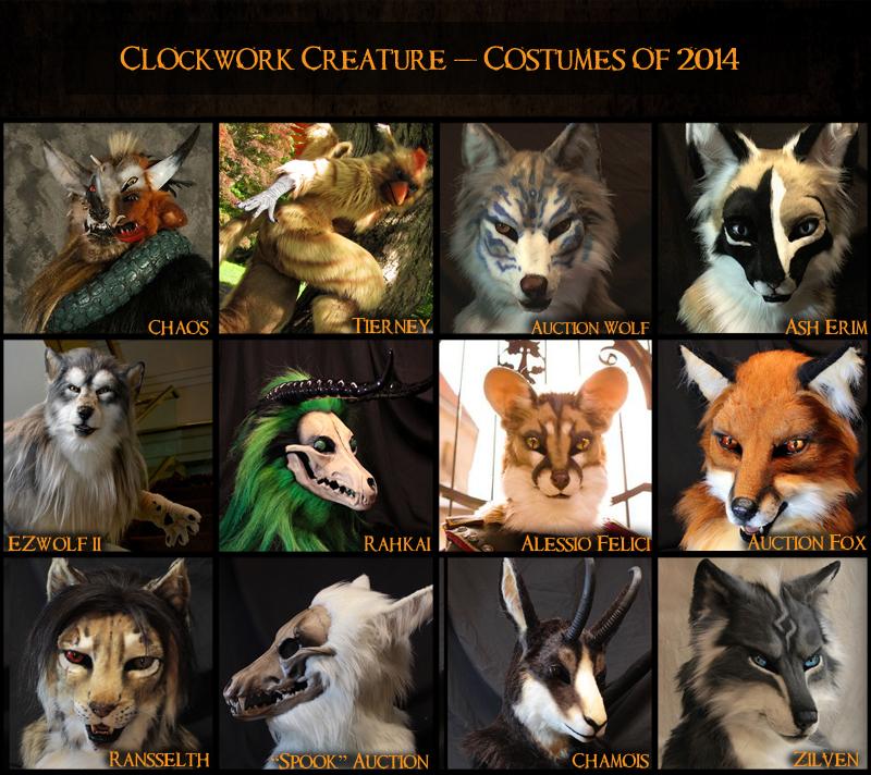 2014 Costumes
