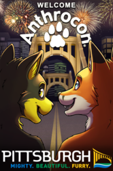 Welcome Anthrocon Signage