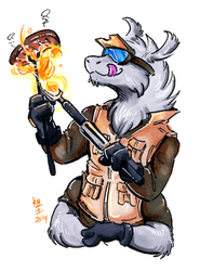 [patreon rewards] a welder's bbq