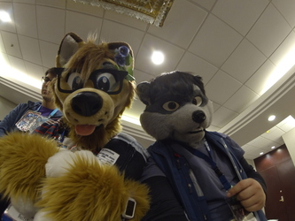 Selfie with Dusty at Howl 2019