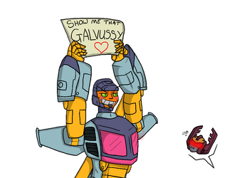 Galvatron is one thicc bih