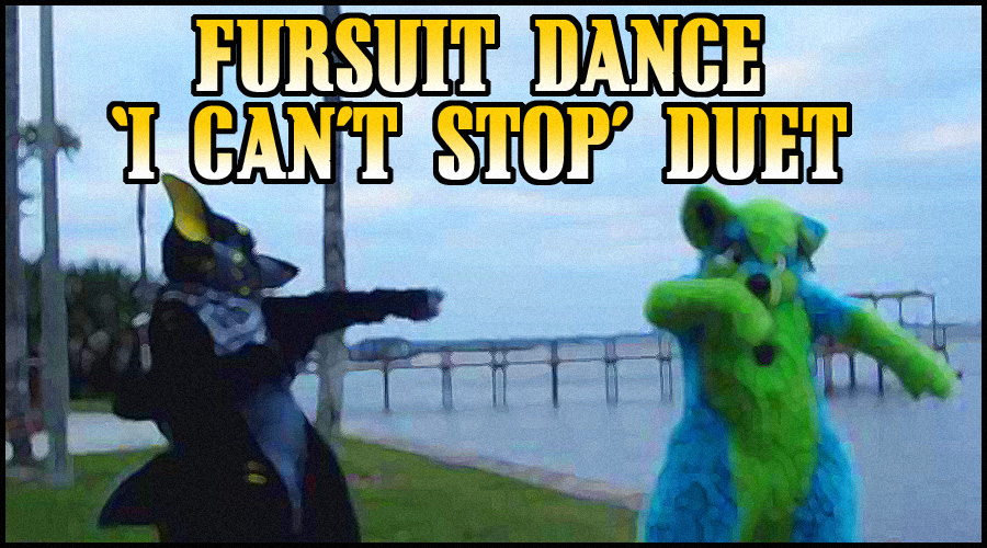 Personal - Fursuit Dance Duet to 'I Can't Stop'
