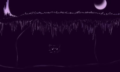 Liepard in a Cave