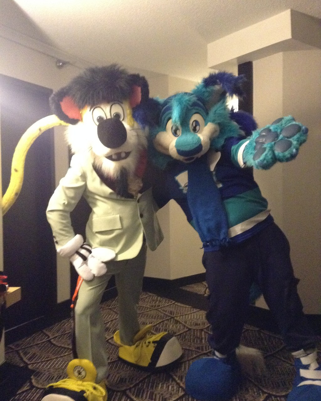 Two Cool Cats At Pine Fur Con 2019