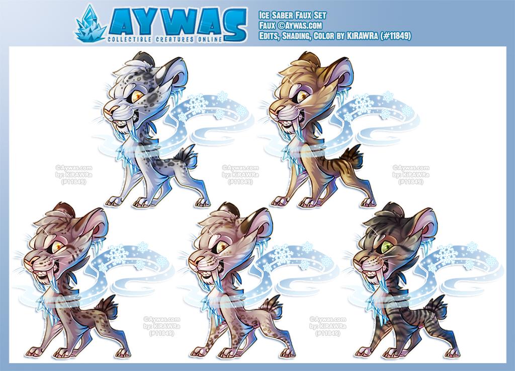 Aywas: Ice Saber Faux Set