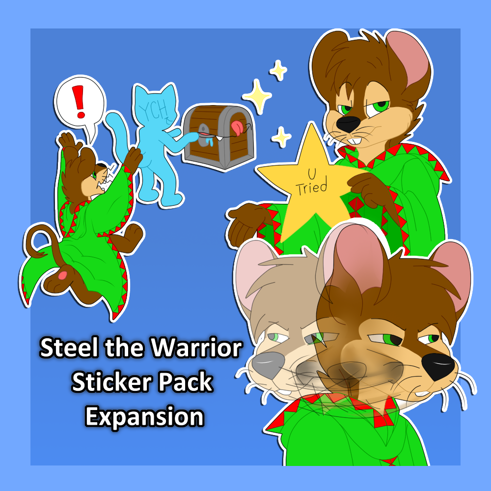 Steel the Warrior Expansion Pack