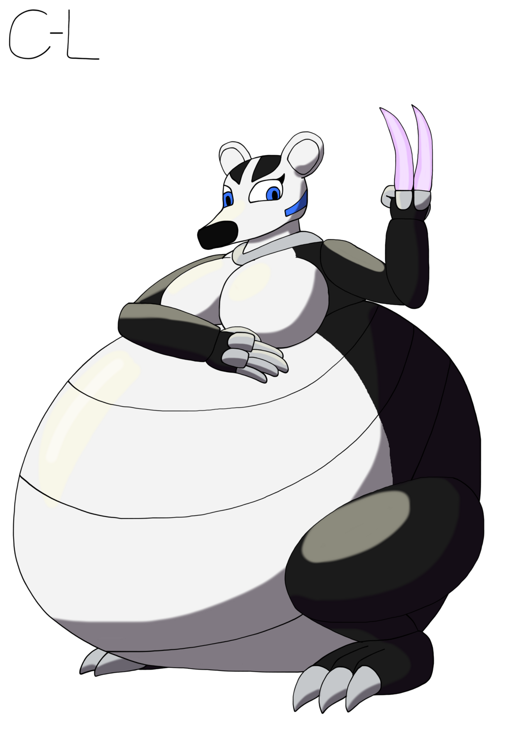 Rosa the badger robot bigger