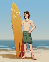 Surfer Dax