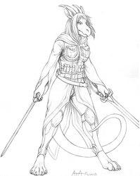 Sera in Battle Gear