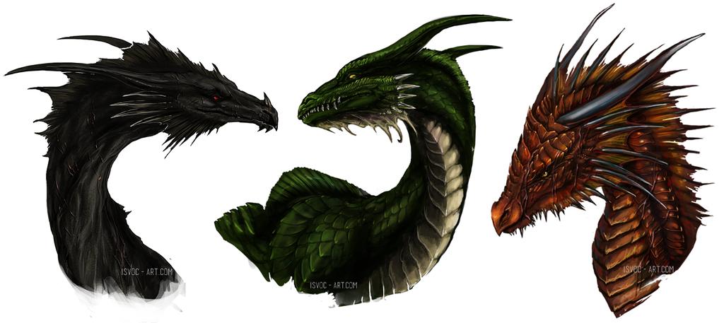 Age of Fire Dragon Trio