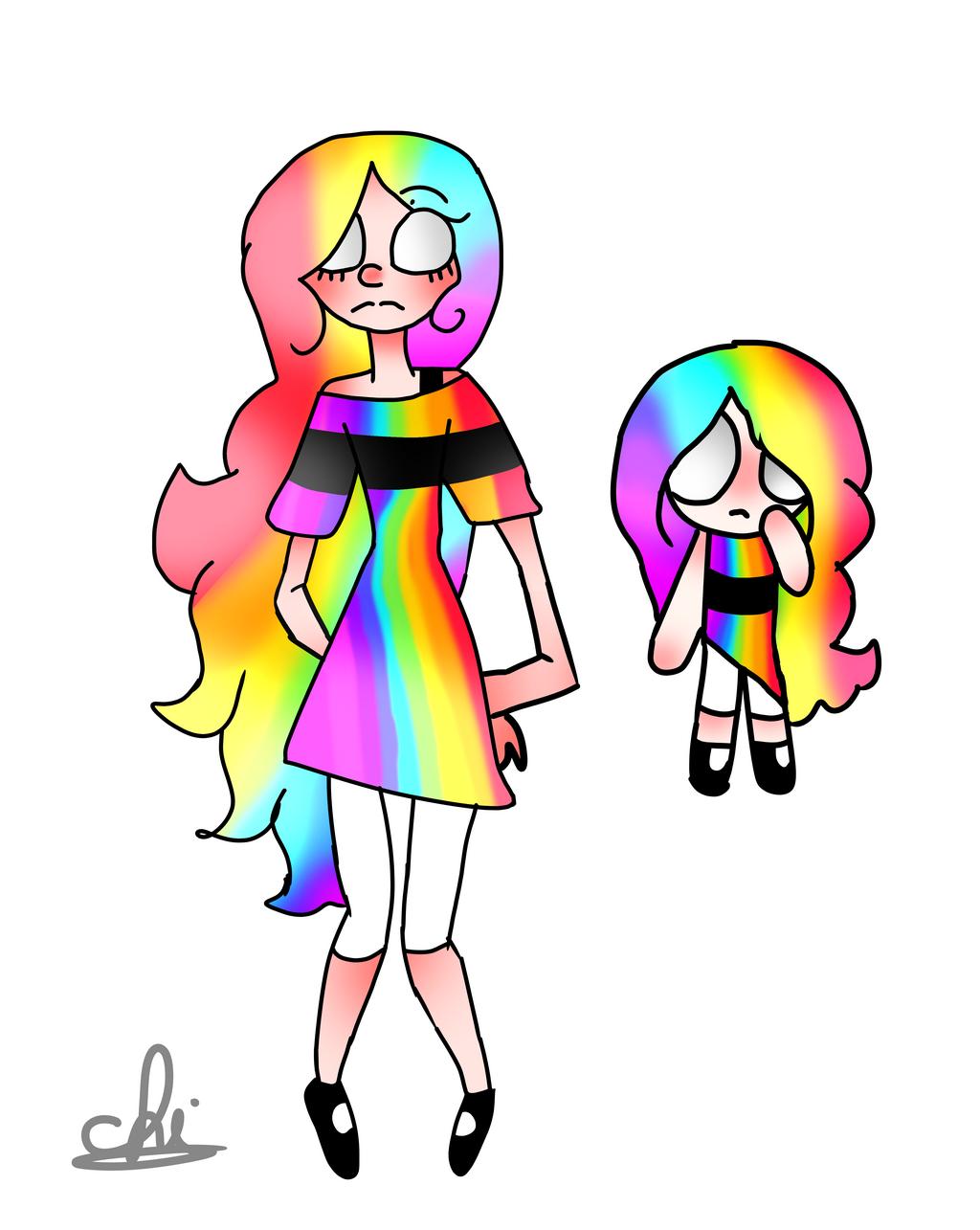 Rainbow - ppg oc