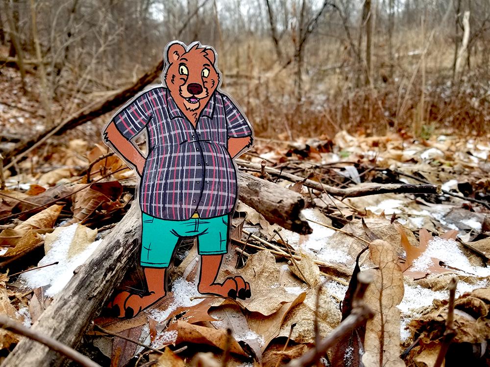 Pocket Pal Brad Bear