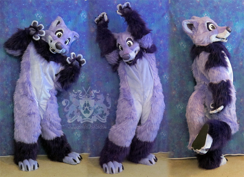 Thystle the Wolf Fursuit
