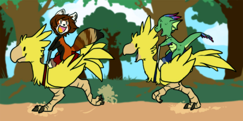 [YCH] Chocobo Race Final