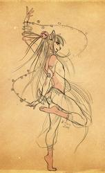 Hideaki's Allure - Kace Commission