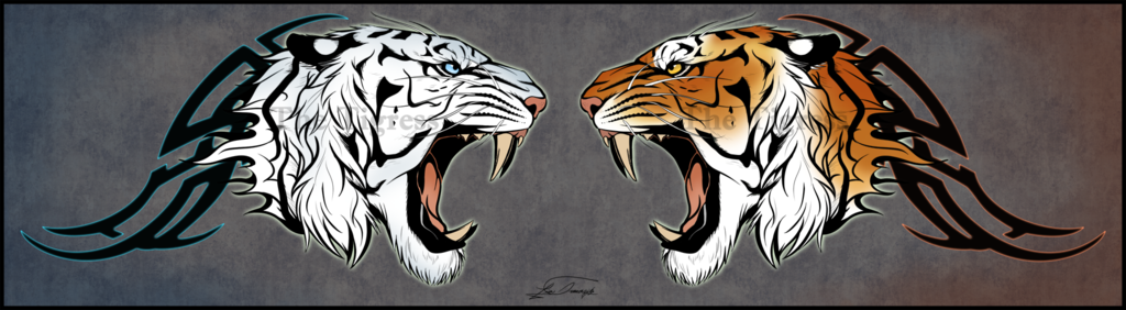 Featured image: Dueling Tigers