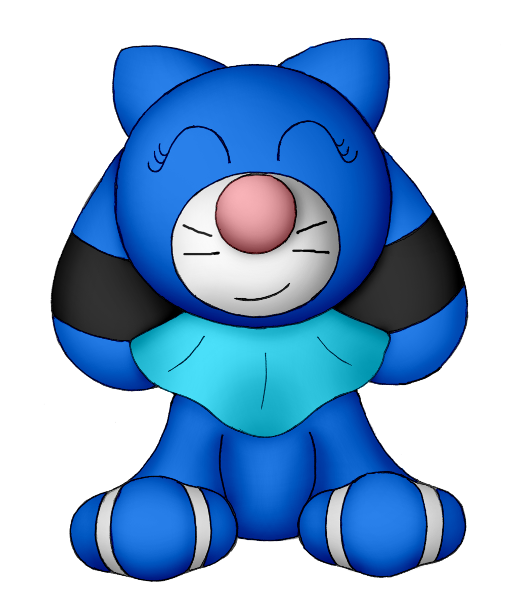 Bubble the Popplio (Updated Design)