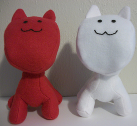 Mio & Mao plush toys