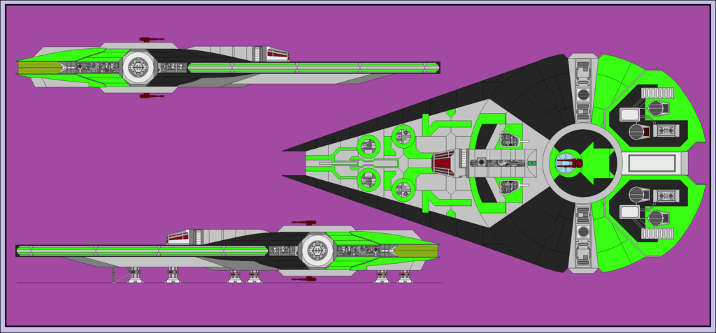 brett workmen's ZZ 5000 freighter (this is a gift for him.)