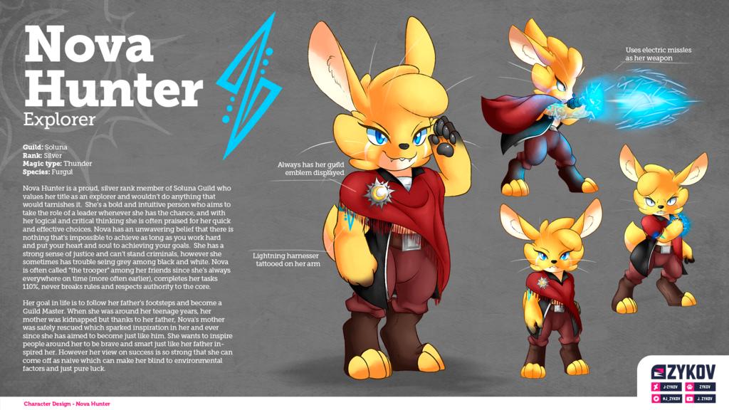Character sheet | Nova Hunter